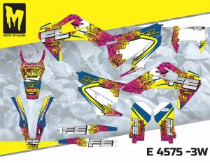 Moto-StyleMX full graphics decal kit. Fits Husqvarna FE & TE '20 -'21
